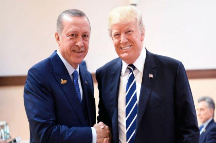 Τραμπ σε Ερντογάν: «Μεγάλες δυνατότητες» στη συνεργασία ΗΠΑ-Τουρκίας για την οικονομική ανάπτυξη