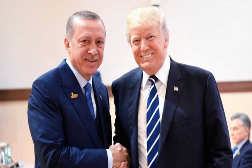 Τραμπ σε Ερντογάν