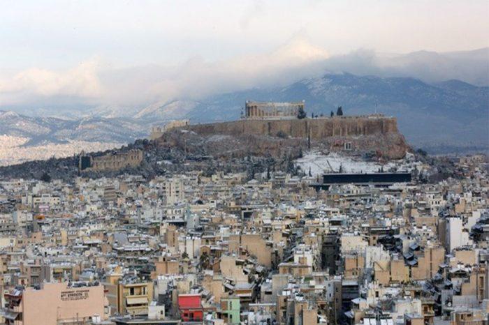 Η νέα κακοκαιρία «Τηλέμαχος» φέρνει χιόνια και στο κέντρο της Αθήνας