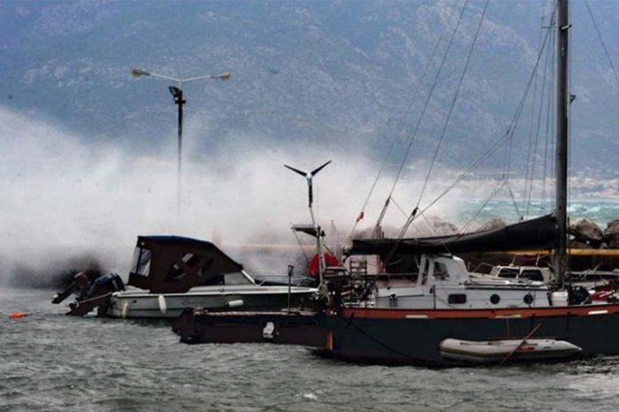 Κακοκαιρία «Χιόνη»: Άνεμοι έως 10 μποφόρ και κίνδυνος ζημιών σε Εύβοια, Αττική και νησιά