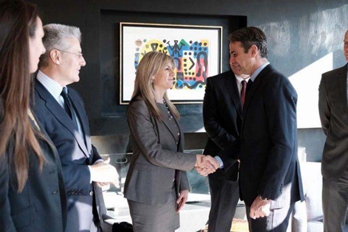 Συνάντηση Κ. Μητσοτάκη με εκπροσώπους γερμανικών επιχειρήσεων