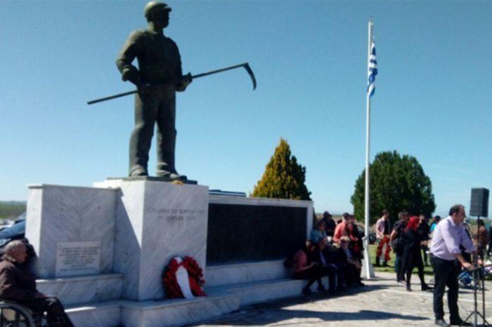 Συγκέντρωση για την 109η επέτειο της εξέγερσης του Κιλελέρ πραγματοποίησαν οι αγρότες της Πανελλαδικής Επιτροπής των μπλόκων