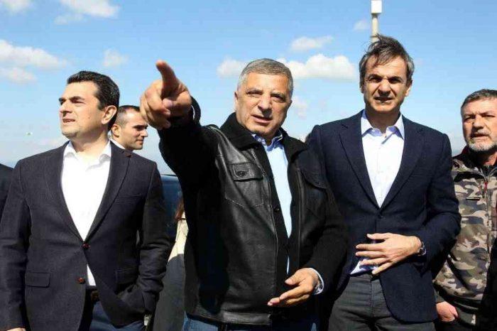 Τον ΧΥΤΑ Φυλής επισκέφθηκε το πρωί ο πρόεδρος της ΝΔ Κυριάκος Μητσοτάκης