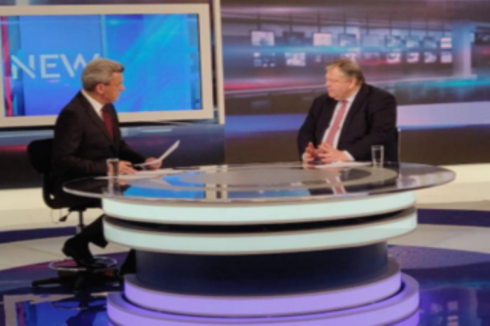 Συνέντευξη Ευ. Βενιζέλου στο κεντρικό δελτίο ειδήσεων του ANT1