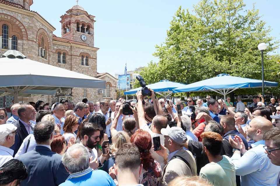 ΚΥΡΙΑΚΟΣ ΜΗΤΣΟΤΑΚΗΣ: Είμαστε εδώ για να ενώσουμε όλους τους Έλληνες