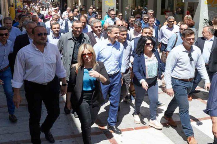 Περιοδεία στην Πελοπόννησο πραγματοποιεί σήμερα ο Κυριάκος Μητσοτάκης