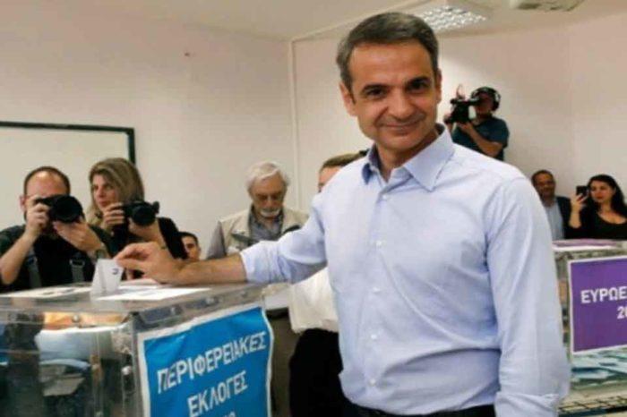 Ο Κυριάκος Μητσοτάκης, θα ασκήσει το εκλογικό του δικαίωμα στο Περιστέρι
