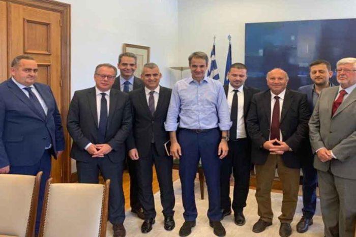Ο Κυριάκος Μητσοτάκης, συναντήθηκε με εκπροσώπους της Ελληνικής Εθνικής Μειονότητας της Αλβανίας