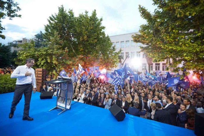 Πάμε όλοι μαζί για μια μεγάλη πολιτική αλλαγή. Πάμε μαζί για τη μεγάλη νίκη.