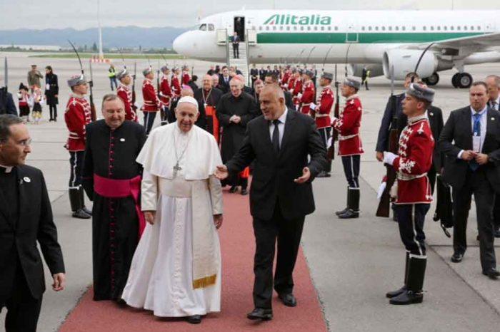 Ο Πάπας Φραγκίσκος στη Βουλγαρία