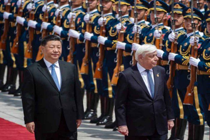 Συνάντηση με τον Κινέζο ομόλογό του Σι Τζιπίνγκ είχε ο Πρόεδρος της Ελληνικής Δημοκρατίας