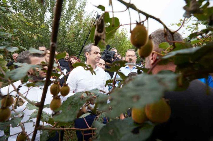 Θα στηρίξουμε τον αγρότη, θα στηρίξουμε το αγροτικό εισόδημα, θα μειώσουμε τους φόρους για κάθε Ελληνίδα, για κάθε Έλληνα