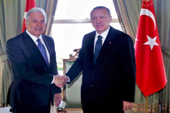 Ο Δ. Αβραμόπουλος είχε συνάντηση με τον Πρόεδρο της Τουρκίας Ρετζέπ Ταγίπ Ερντογάν