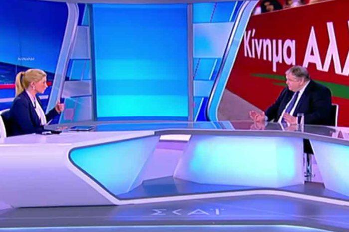 Ο πρώην πρόεδρος του ΠΑΣΟΚ, εξέφρασε τη θλίψη του γι' αυτήν την ενέργεια της κ. Γεννηματά