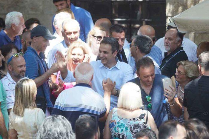 Ο Κυριάκος Μητσοτάκης θα ολοκληρώσει τον προεκλογικό του αγώνα στη Μακεδονία