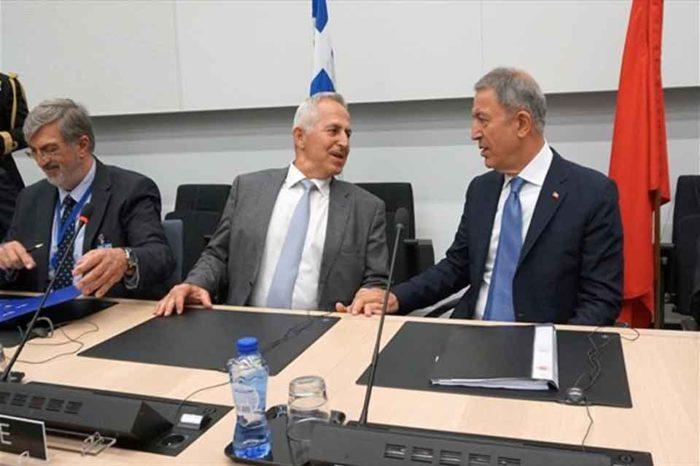 Ο υπουργός Εθνικής Άμυνας, ξεκαθάρισε πως η Ελλάδα δεν θα υποχωρήσει από την υπεράσπιση της εδαφικής της ακεραιότητας
