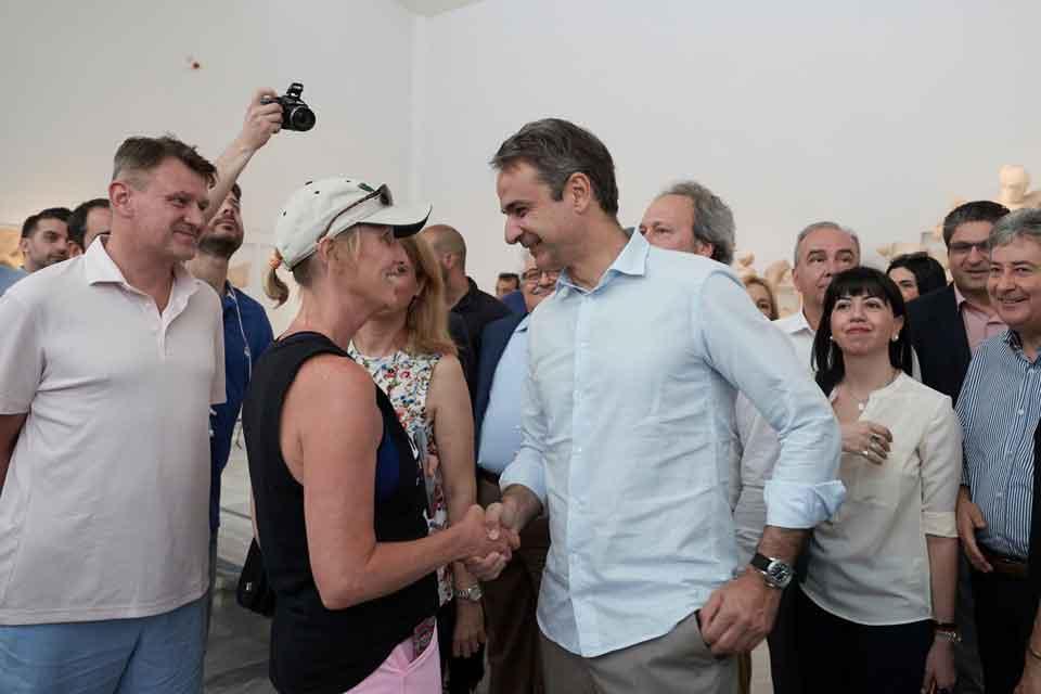 H πολιτική αλλαγή θα ολοκληρωθεί μόνο εάν το βράδυ της 7ης Ιουλίου μου δώσετε μια ισχυρή εντολή για να μπορέσω να αλλάξω την Ελλάδα