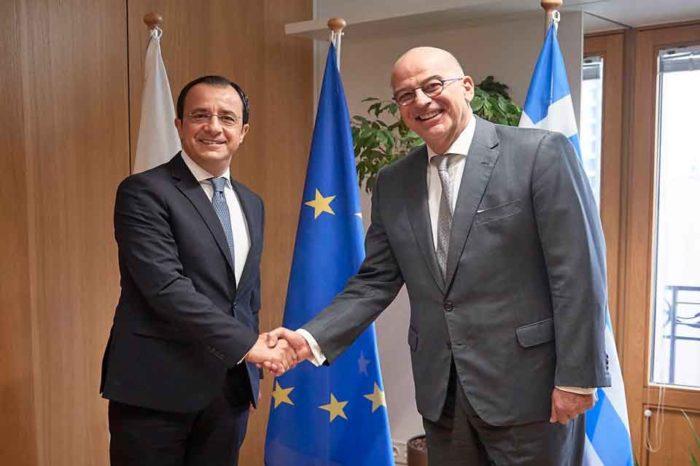 Στις Βρυξέλες σήμερα ο υπουργός Εξωτερικών, Νίκος Δένδιας
