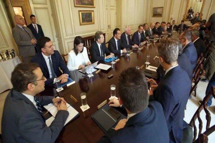 Σε εξέλιξη βρίσκεται η συνεδρίαση του υπουργικού συμβουλίου υπό τον πρωθυπουργό