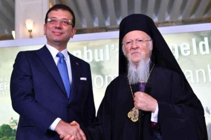 Ο Οικουμενικός Πατριάρχης Βαρθολομαίος συνεχάρη τον νεοεκλεγέντα δήμαρχο