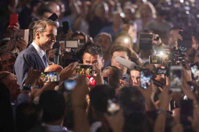 Η νίκη της Νέας Δημοκρατίας είναι νίκη της Ελλάδος και κάθε Έλληνα. Μια νέα ημέρσ ξημερώνει για την Ελλάδα