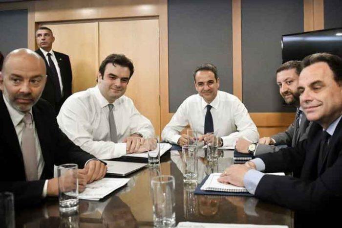 Στο υπουργείο ψηφιακής διακυβέρνησης ο Πρωθυπουργός Κυριάκος Μητσοτάκης
