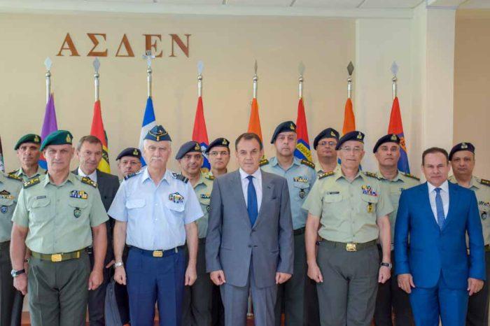 Ο Υπουργός Εθνικής Άμυνας κ. Νικόλαος Παναγιωτόπουλος, επισκέφθηκε την Ανώτερη Στρατιωτική Διοίκηση Εσωτερικού και Νήσων