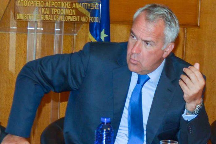 Συσκέψεις με εκπροσώπους από Ενώσεις και Συνδέσμους της παραγωγικής αλυσίδας πραγματοποίησε  ο υπουργός Μάκης Βορίδης