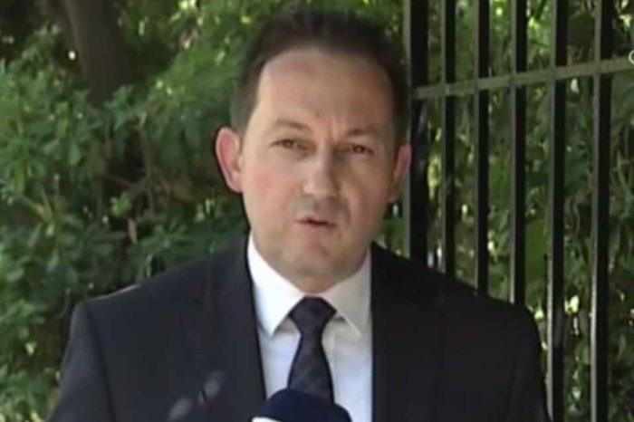 Την πρώτη επίσημη ενημέρωση έκανε ο κυβερνητικός εκπρόσωπος Στέλιος Πέτσας, μετά τον σεισμό των 5,1 Ρίχτερ