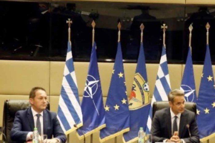 Επίσκεψη στο υπουργείο Άμυνας πραγματοποιεί αυτή την ώρα ο πρωθυπουργός, Κυριάκος Μητσοτάκης