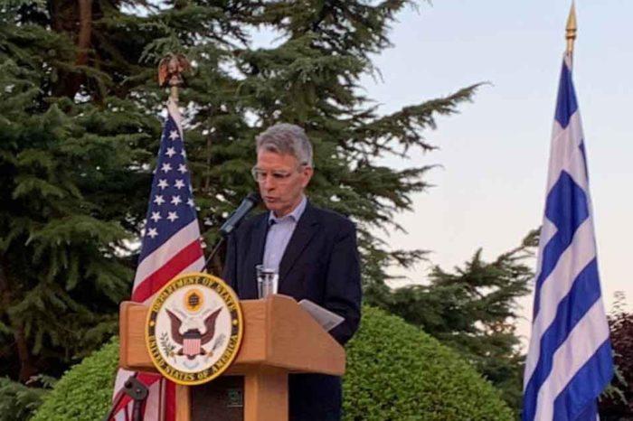 Τη σταθερή προσήλωση των ΗΠΑ και της Ελλάδας στην εμβάθυνση των διμερών σχέσεων υπογράμμισε ο Τζέφρι Πάιατ