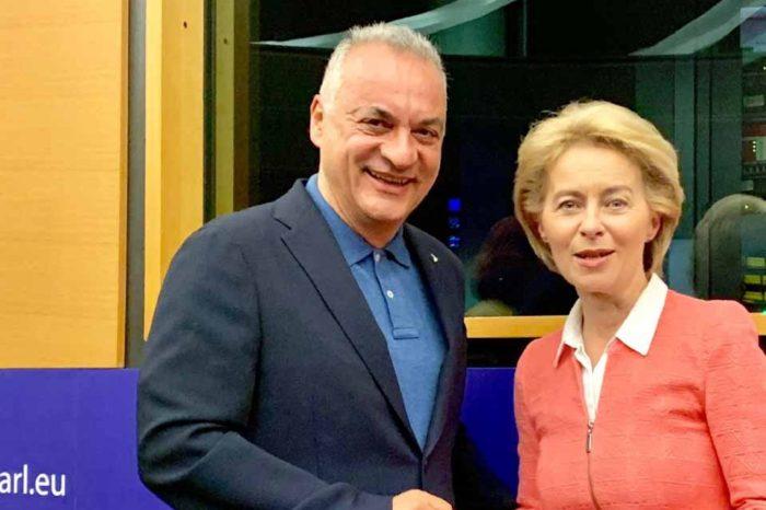 Με την υποψήφια πρόεδρο της Ευρωπαϊκής Επιτροπής Ούρσουλα φον ντερ Λάιεν συναντήθηκε ο  Μανώλης Κεφαλογιάννης