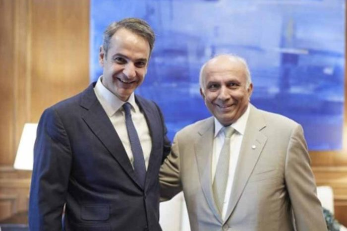 Εξαιρετικό το κλίμα της συνάντησης του πρωθυπουργού  με τον Πρεμ Γουάτσα