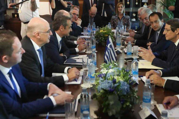 Οταν η Ελλάδα είναι ισχυρή, είναι ισχυρή και η Κύπρος και είναι ισχυρός και ο Ελληνισμός παντού.