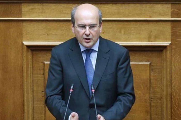 Κωστής Χατζιδάκης :Εμείς σε αντίθεση με τη «μισή ΔΕΗ» του κ. Τσίπρα, θα παλέψουμε για μεγαλύτερη ισχυρή ΔΕΗ