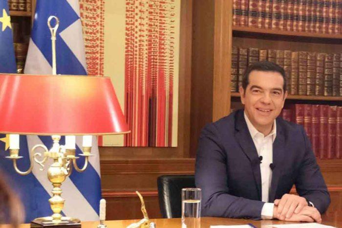 Ο πρωθυπουργός, Αλέξης Τσίπρας, επικοινώνησε τηλεφωνικά με τον κ. Κυριάκο Μητσοτάκη και τον συνεχάρη για τη νίκη της ΝΔ