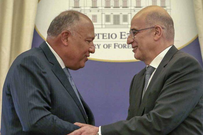 Μήνυμα συνεργασίας μεταξύ Ελλάδας και Αιγύπτου