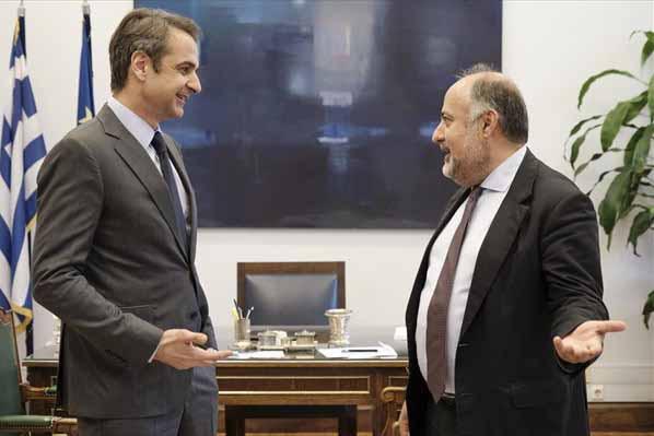 Ο Δημήτρης Τσιόδρας αναλαμβάνει διευθυντής του γραφείου Τύπου του Πρωθυπουργού