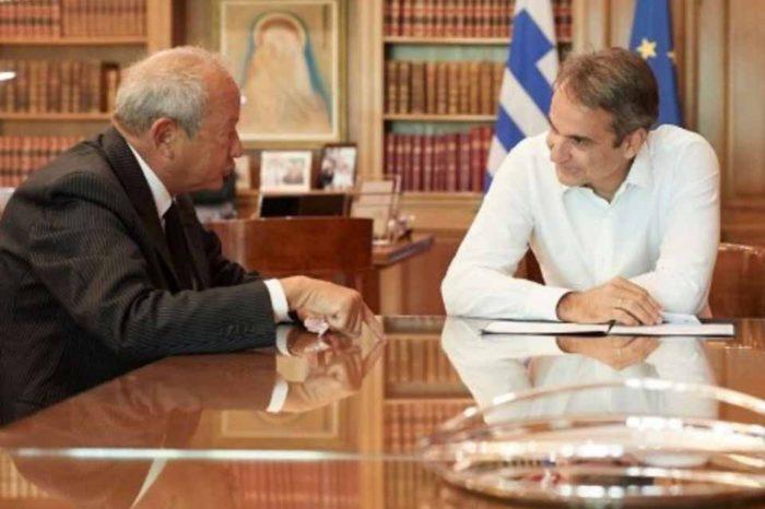 Συνάντηση του πρωθυπουργού με τον κ. Sawiris