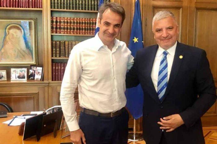 Συνάντηση του Πρωθυπουργού με τον νέο Περιφερειάρχη Αττικής Γιώργο Πατούλη