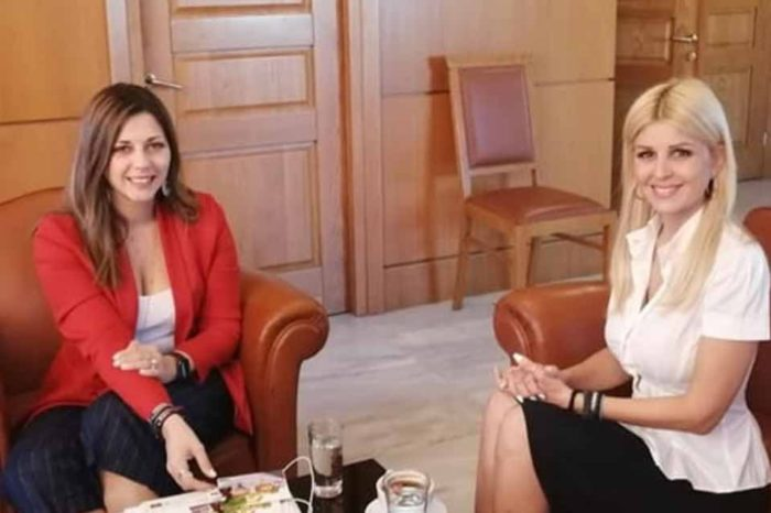 Στο επίκεντρο τα θέματα παιδείας στη συνάντηση της κ.Σοφίας Ζαχαράκη με την κ.´Ελενα  Ράπτη