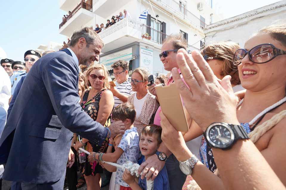 Πρωθυπουργός: Μήνυμα αυτοπεποίθησης και σιγουριάς για το μέλλον της Ελλάδας