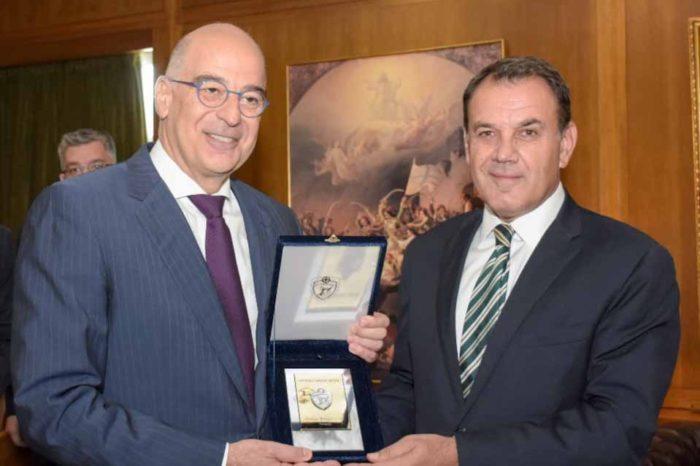 Μνημόνιο συνεργασίας μεταξύ του Υπουργείου Εθνικής Άμυνας και του Υπουργείου Εξωτερικών