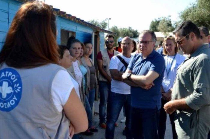 Ο Γιώργος Κουμουτσάκος επισκέπτεται σήμερα  τη Λέσβο
