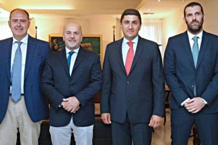 Συνάντηση Λ. Αυγενάκη με τον Γ. Αλαφούζο