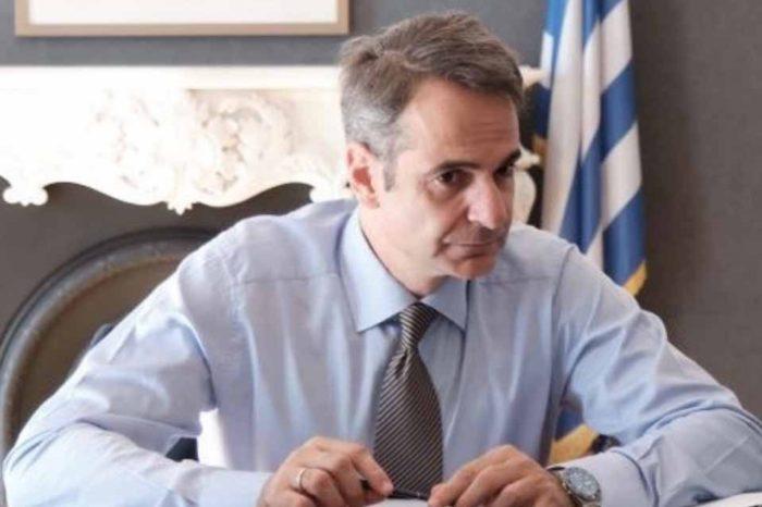Ο πρωθυπουργός, Κυριάκος Μητσοτάκης συναντήθηκε με τον Σύμβουλο Εθνικής Ασφαλείας, αντιναύαρχο Αλέξανδρο Διακόπουλο