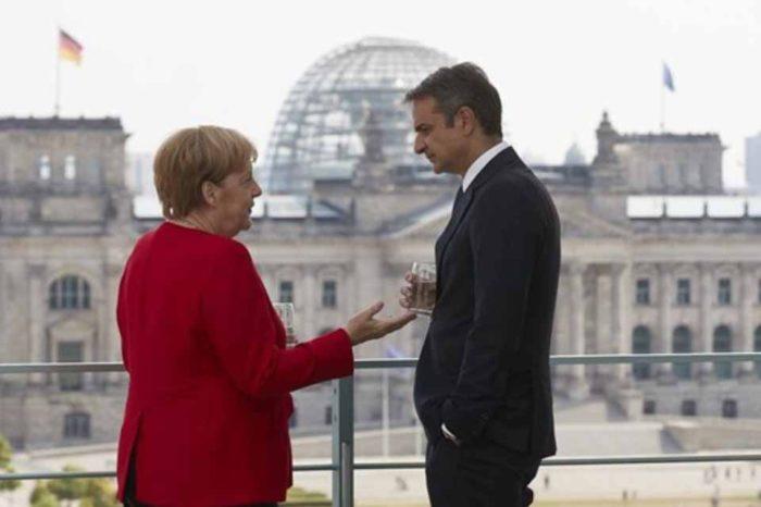 Σε καλό κλίμα η συνάντηση του πρωθυπουργού με την καγκελάριο