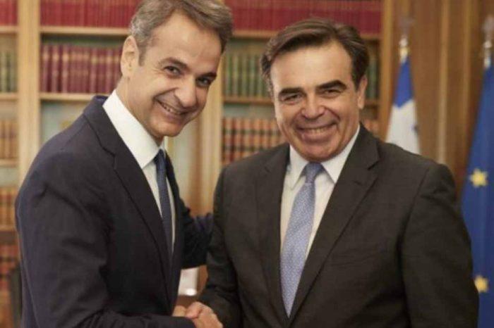 Δήλωση του Πρωθυπουργού Κυριάκου Μητσοτάκη για την ανάθεση  της Αντιπροεδρίας της Κομισιόν στον Μαργαρίτη Σχοινά
