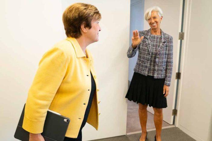 Η Κρισταλίνα Γκεοργκίεβα, η δεύτερη γυναίκα που αναλαμβάνει καθήκοντα γενικής διευθύντριας του  ΔΝΤ