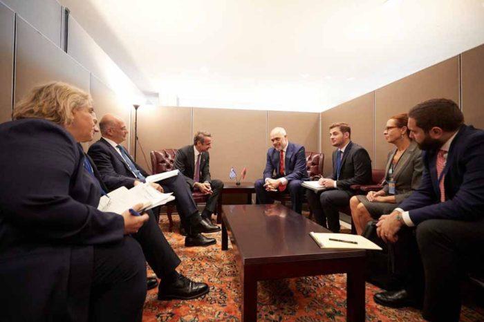 Πρωθυπουργός Κυριάκος Μητσοτάκης σε Ράμα: H ευρωπαϊκή προοπτική της Αλβανίας περνάει μέσα από την ελληνική μειονότητα
